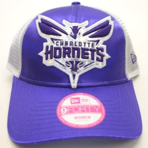 69c0ce2864d Women s New Era Charlotte Hornets 9Forty Cap
